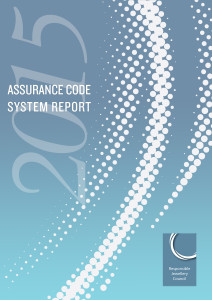Assurance Code Report 2015 Cover