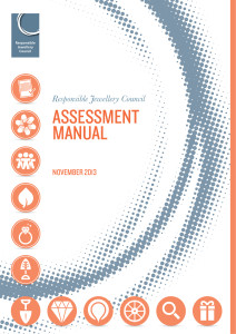 U#3149 RJC assess manual cover HR